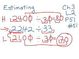 showme estimating quotients with 2 digit divisors