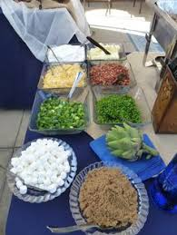 Toppings For A Mashed Potato Bar Mashed Potato Bar With Yummy Toppings Great Food Ideas