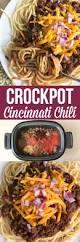 crockpot cincinnati chili family fresh meals