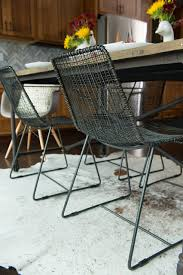 cb2 reed chair contemporary dining room san francisco
