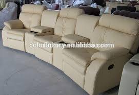 Movie Theater Sofas 3 Seats Italy Import Genuine Leather Movie Sofa Movie Theater