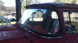1957 60 ford f100 windshield front window seal install youtube
