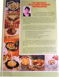 recette de cuisine alg駻ienne moderne le secret de la cuisine algérienne moderne mme mokhtaria rezki book