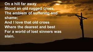 That Old Rugged Cross On A Hill Far Away Stood An Old Rugged Cross Rugs Ideas