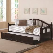 coaster daybeds by coaster traditionally styled wood daybed with