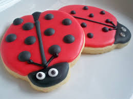 ladybug cookies ladybug cookies ladybug favors ladybug decorated cookies ladybug