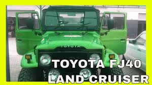 lexus land cruiser for sale in lahore toyota fj40 land cruiser restored by inh final stage youtube