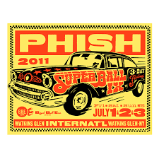 phish 2011 official phish super ball ix poster u2013 ames bros