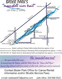 Platte River Map Bader Park Owned By Merrick County Managed By The Platte Peer