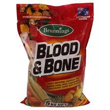 fertiliser for native plants brunnings blood u0026 bone 20kg newtons building u0026 landscape