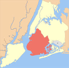 New York City Area Map by Brooklyn Wikipedia