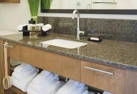 bathroom granite countertops ideas bathroom cool corian vs granite for your countertops idea