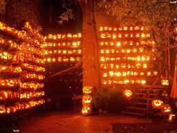 fall pumpkin wallpaper burning pumpkins hd wallpaper