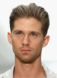 backside haircuts gallery men s brushed back hairstyles picture gallery