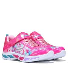 light up sneakers skechers litebeams light up sneaker pre grade pink