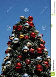 red and silver decorated christmas trees part 23 i heart nap