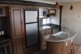 kitchen island power 2018 salem 27reis by forest river rear entertainment w 2 slide