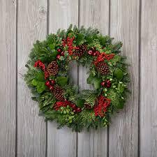 fresh wreaths garland wreaths costco