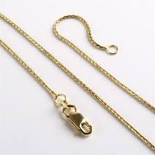 yellow gold necklace chains images Gold chains 14k yellow gold wheat link chain the russian store jpg
