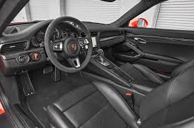 porsche 911 interior 2017 porsche 911 turbo s front interior drivers side motor trend