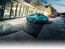 the sport of it the new porsche 718 cayman and 718 boxster models