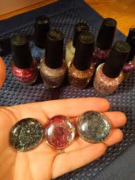 how to make nail polish gems a fun and cheap craft project to do