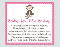 baby shower instead of a card bring a book baby shower invitation wording for books instead of cards