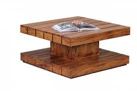 design couchtisch holz couchtische aus massivholz im wohnzimmer 50 tolle ideen die