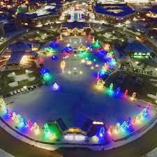 Indianapolis Circle Of Lights Indy U0027s 11 Must See Light Displays 2016 Soft Rock B105 7 Wyxb