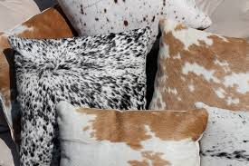 Cowhide Pillows Pillow Cover Pattern U2013 Matt And Jentry Home Design