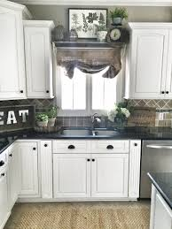 farmhouse kitchen window decor learn more by visiting the