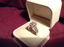 wedding rings in box diamond ring in box diamondstud