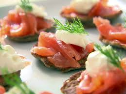 ina garten pasta recipes blinis with creme fraiche and smoked salmon recipe ina garten