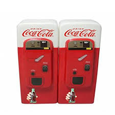 coca cola vending machine home collectible salt and