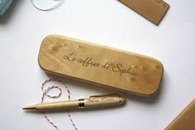 stylo personnalisã mariage stylo personnalisé et coffret bois gravé personnalisation