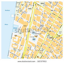 downtown manhattan map manhattan map stock images royalty free images vectors