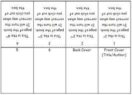 Make A Book Template mini book template microsoft word search 3rd grade