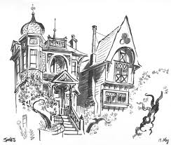 Victorian House Drawings by Matt Jones June 2012