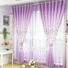 Lavender Window Curtains Lavender Floral Dreamy Simple Beautiful Cheap Curtains