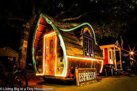 incredible tiny house cafe is a true work of art living big in a