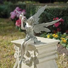 fairy garden statues resin home outdoor decoration