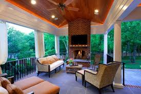 covered porch shillington traditional deck charlotte by