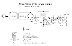 variable power supply using lm317 voltage regulator wiring
