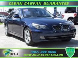 bmw 5 series for sale used used bmw 5 series for sale in orlando fl 156 used 5 series