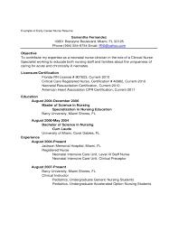 nursing resume samples for new graduates all nurses help inside 15