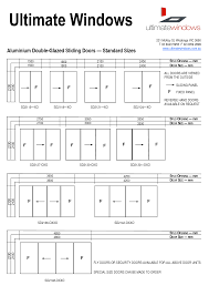 Patio Door Sizes Uk Standard Sliding Patio Door Sizes Handballtunisie Org