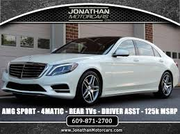 s550 mercedes for sale 2015 mercedes s class s550 4matic amg sport 125k msrp stock