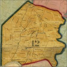 County Map Of Washington Thomas Taggert A Map Of Washington County 1859 District 12