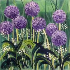 allium flowers purple allium flowers framed print liz rogers