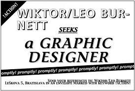 Seeking Ad Recruitment Caign Seeking A Graphic Designer Print Ad By
